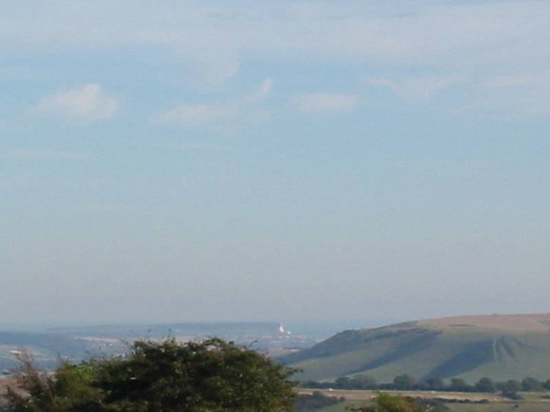 Seaford Head from Ditchling Beacon