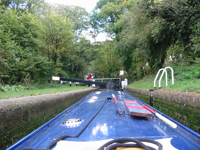 Northwood Lock on the Oxford Canal