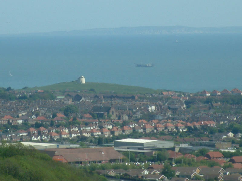 France from Folkestone