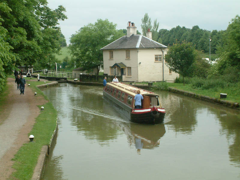 Leicester line of Grand Union Canal