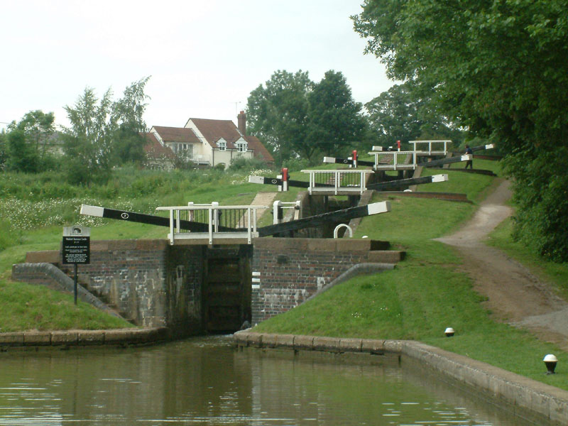 Staircase locks, Grand Union Canal, Watford