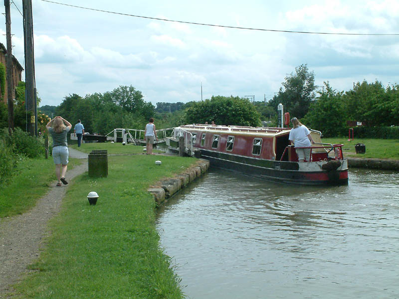 Bottom lock, Buckby flight, Grand Union Canal