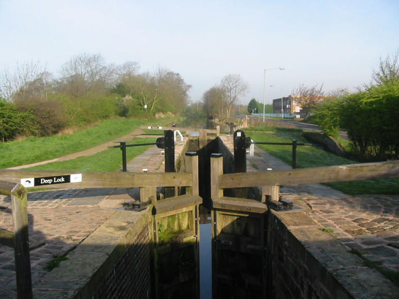 Deep Lock on Chesterfield Canal