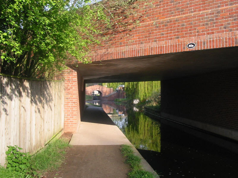 Tyldon Road Bridge on the Chesterfield Canal