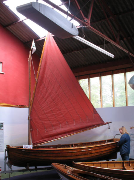 Arthur Ransome's Scarab dinghy