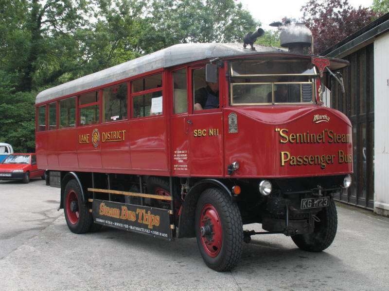 Steam Bus
