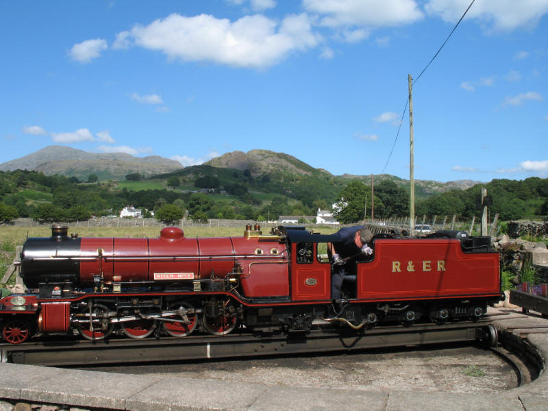 River Mite, Ravenglass and Eskdale Railway