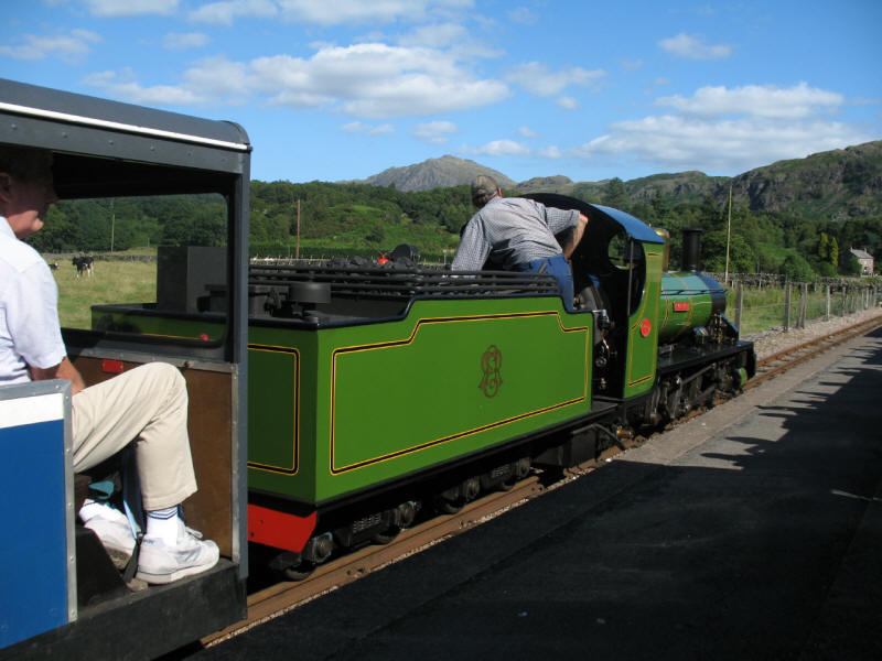 River Irt, Ravenglass and Eskdale Railway