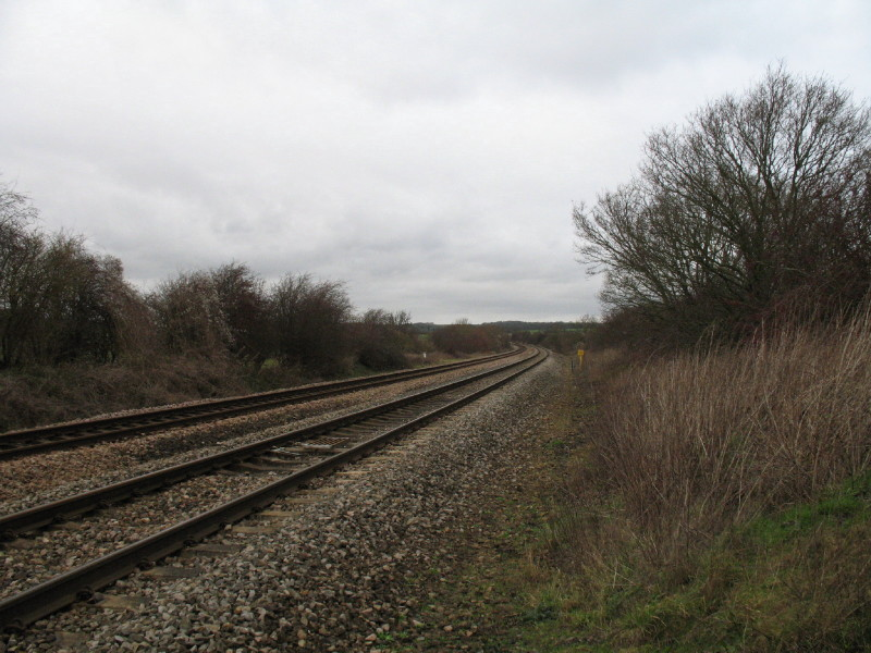 Swindon to Gloucester railway
