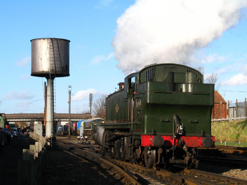 Locomotive 4141, Loughborough Central, Great Central Railway