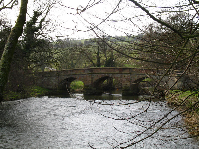 Bridge over River Manifold, Ilam