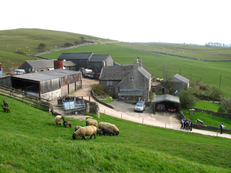 Castern farm, Peak District
