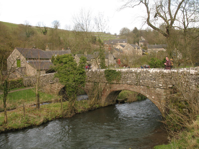 Milldale and Viator's Bridge, Dovedale