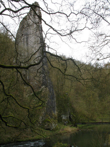 Ilam Rock, Dovedale