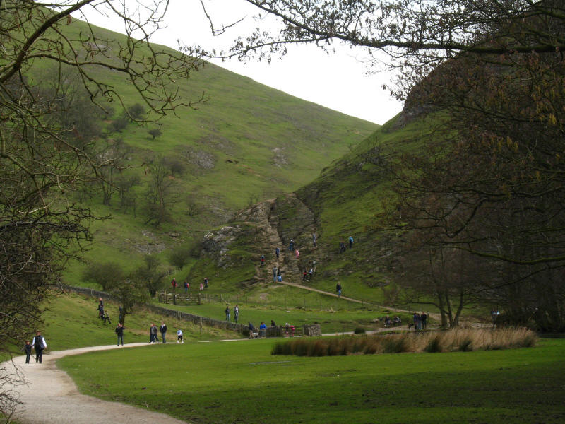 Dovedale by Thorpe Cloud
