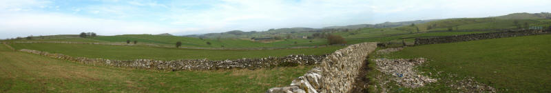 Drystone walls, Peak District