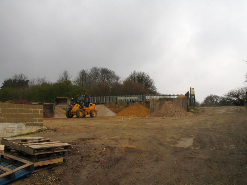 builder's yard, Bishop's Stortford