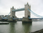 Tower Bridge on the River Thames in London