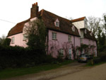 Brundon Mill in Suffolk pink