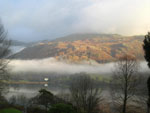 Morning mist over Grasmere