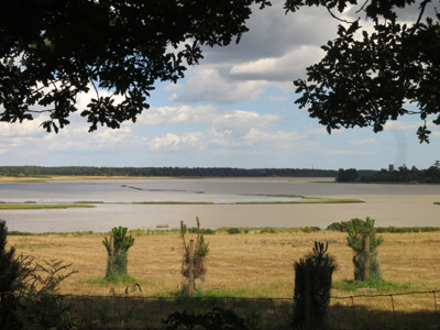 The River Alde from Iken Cliff on the Suffolk Coast Path