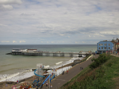 Cromer Pier at the end of the Norfolk Coast Path